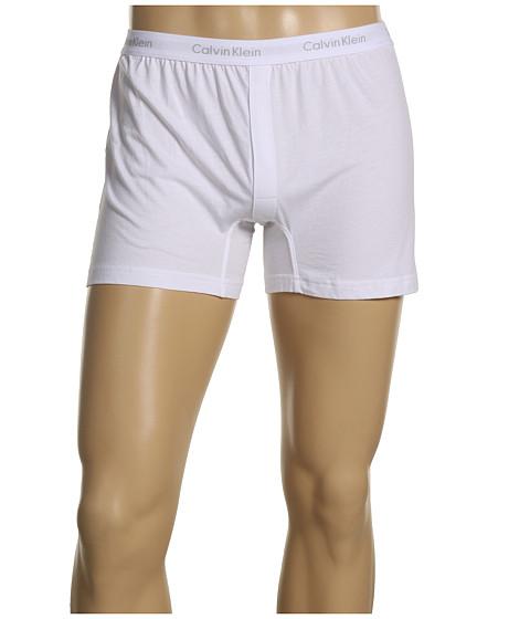 Calvin Klein Underwear Bar Matrix Slim Fit Knit Boxer