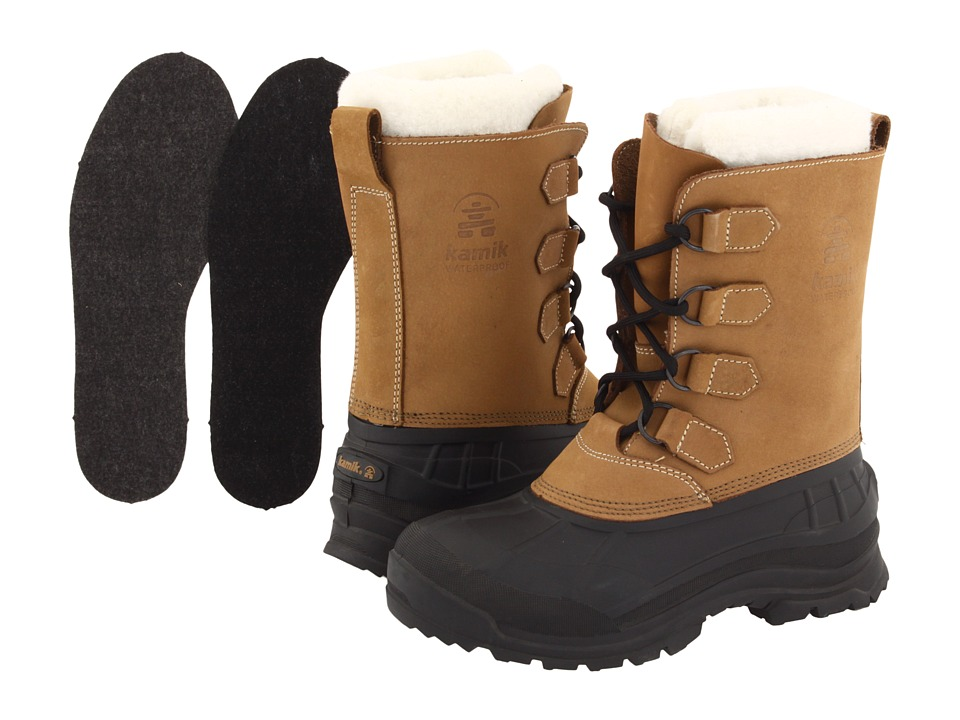 Kamik Alborg Tan Womens Cold Weather Boots