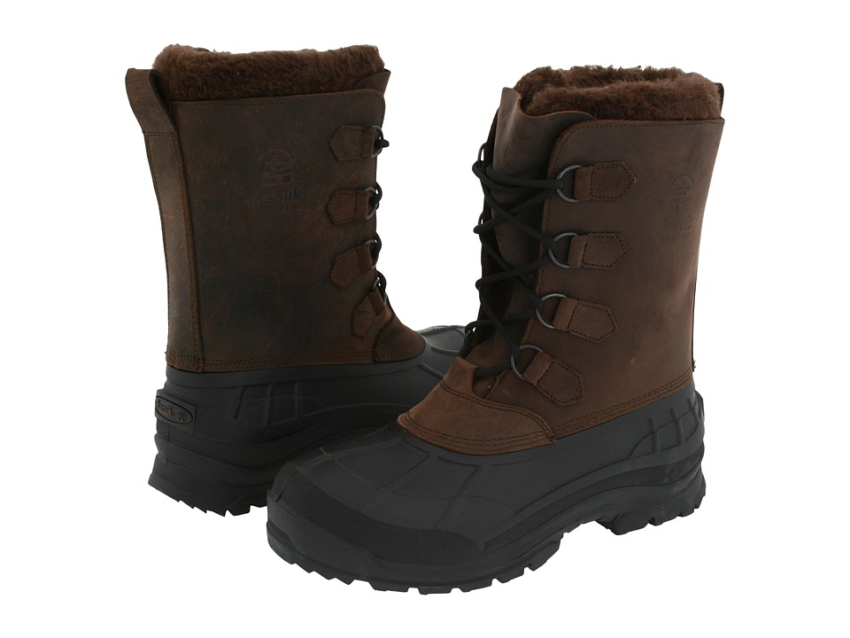 Kamik Alborg Gaucho Mens Cold Weather Boots