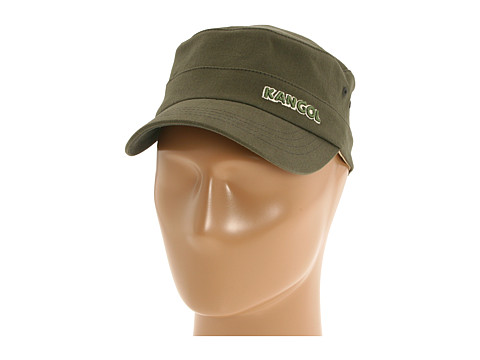 Kangol Cotton Twill Army Cap - Army Green