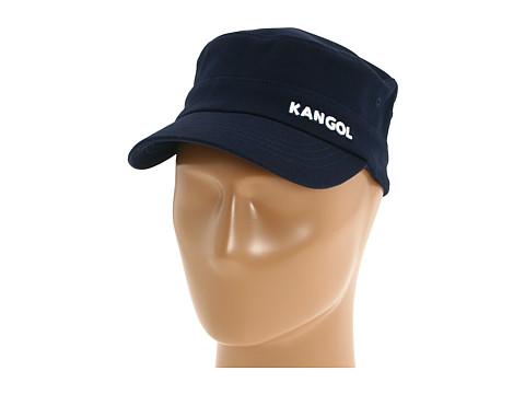 Kangol Cotton Twill Army Cap - Navy
