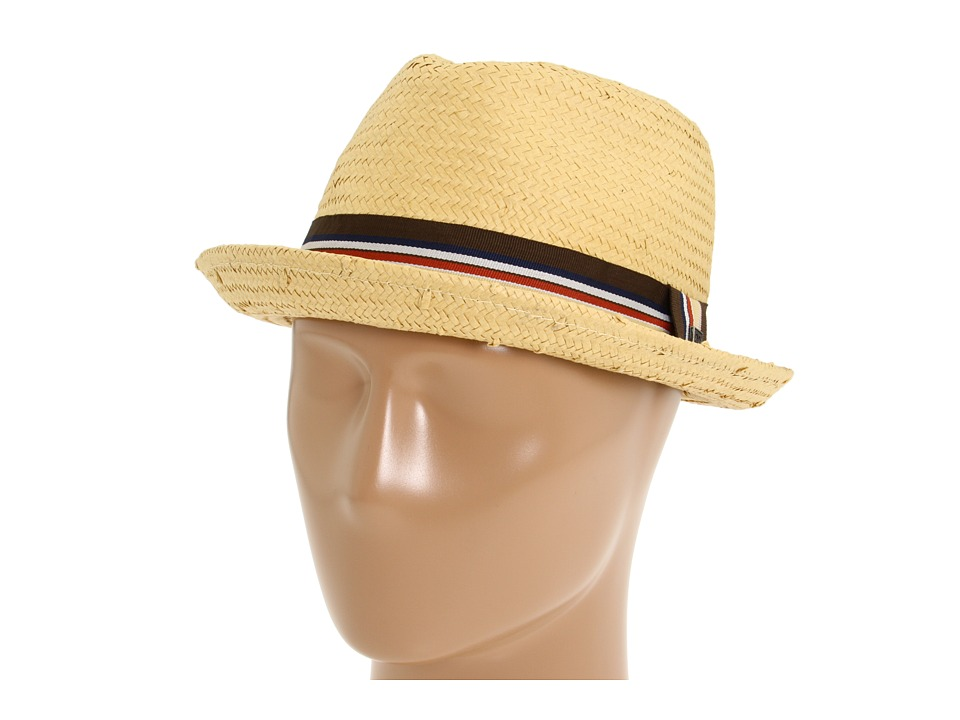 Brixton - Castor (Tan Straw) Traditional Hats