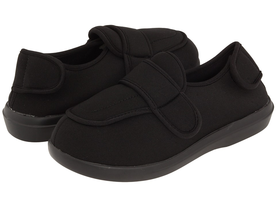 Propet Cronus Medicare/HCPCS Code = A5500 Diabetic Shoe (Black) Slippers