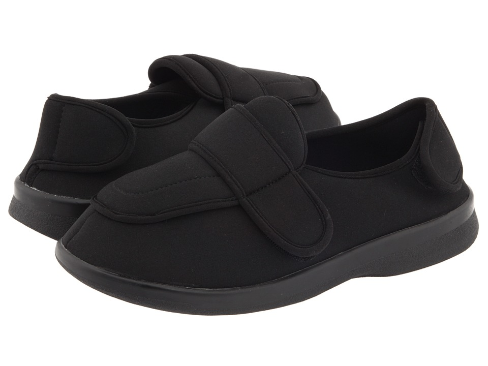Propet - Cronus Medicare/HCPCS Code = A5500 Diabetic Shoe (Black) Mens Slip on  Shoes