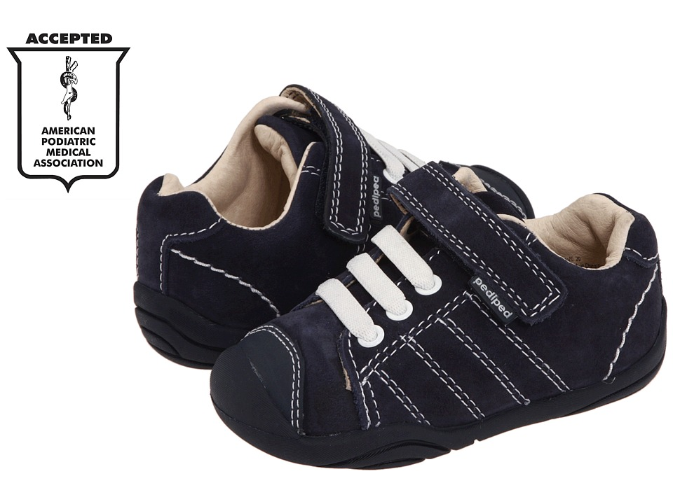 pediped - Jake Grip n Go (Toddler) (Navy) Boys Shoes
