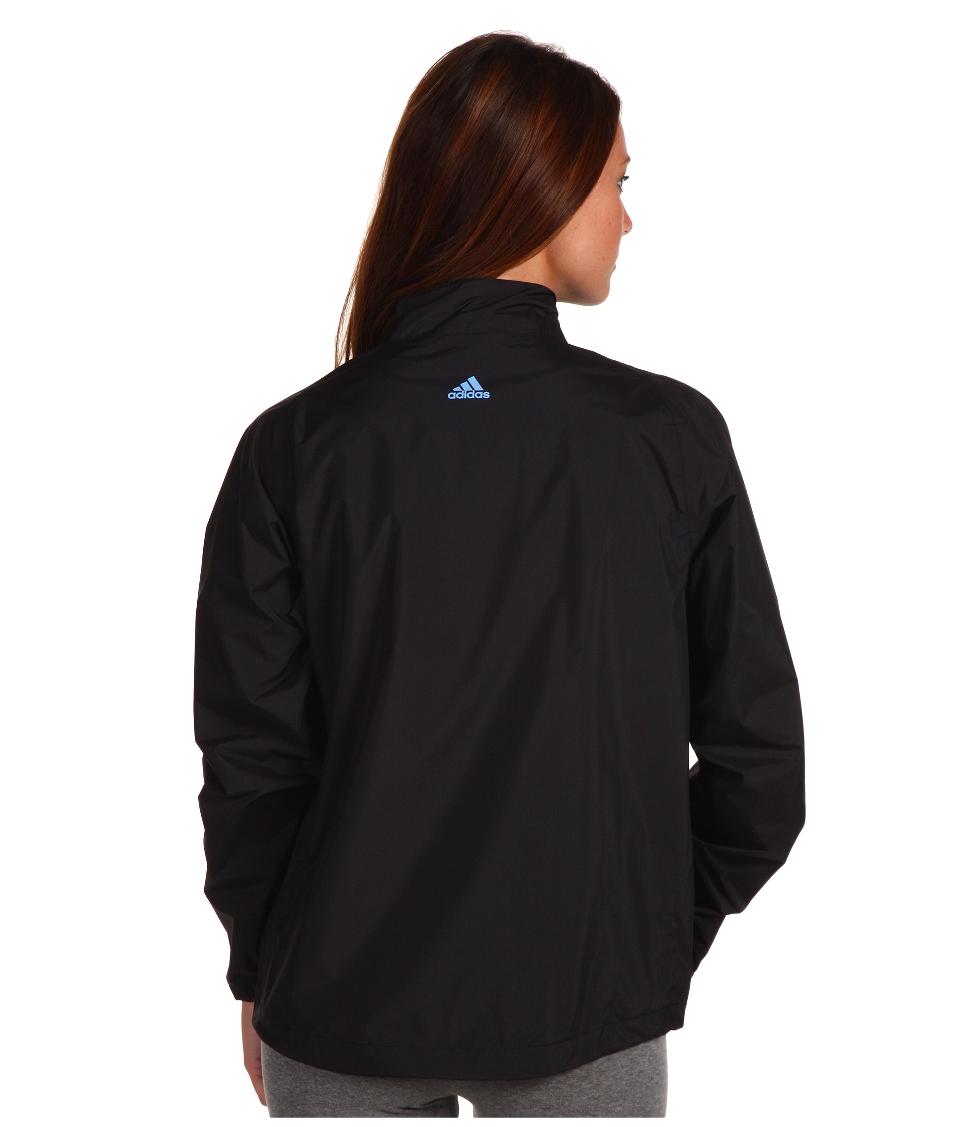 Adidas golf climaproof rain provisional jacket black for Adidas golf rain shirt