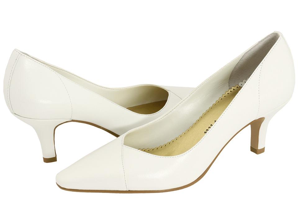 Bella-Vita Wow (White Kidskin) High Heel Shoes
