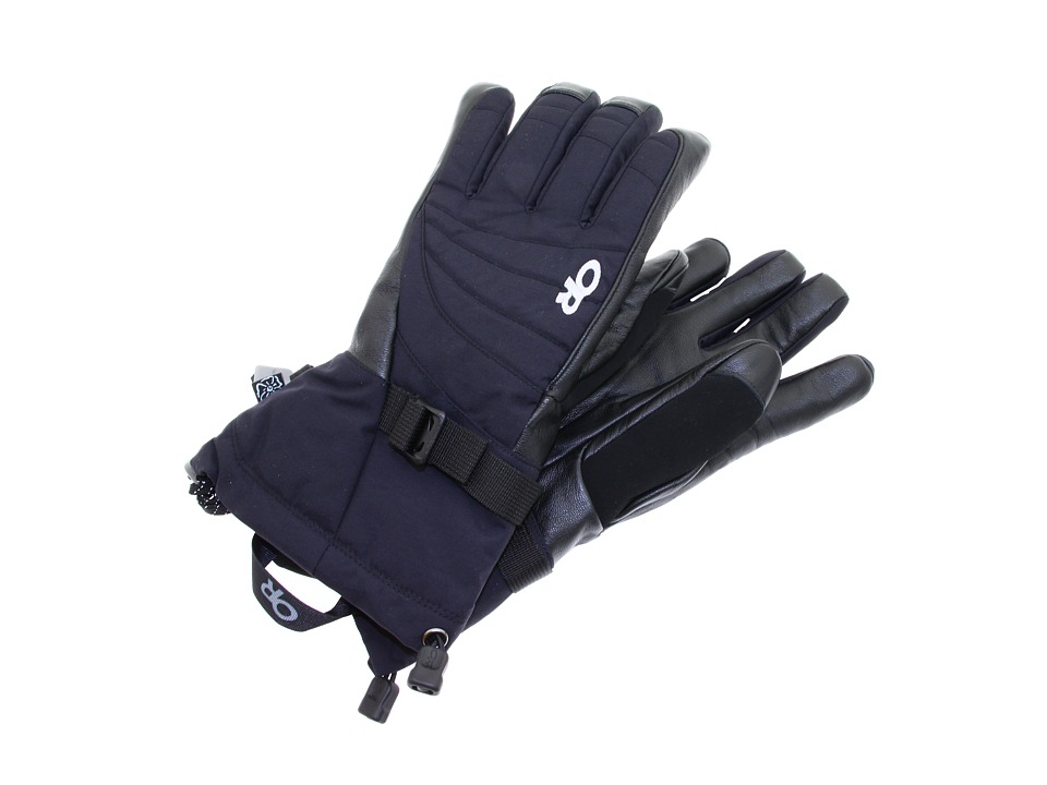 Outdoor Research - Womens Revolution Gloves (Black) Extreme Cold Weather Gloves