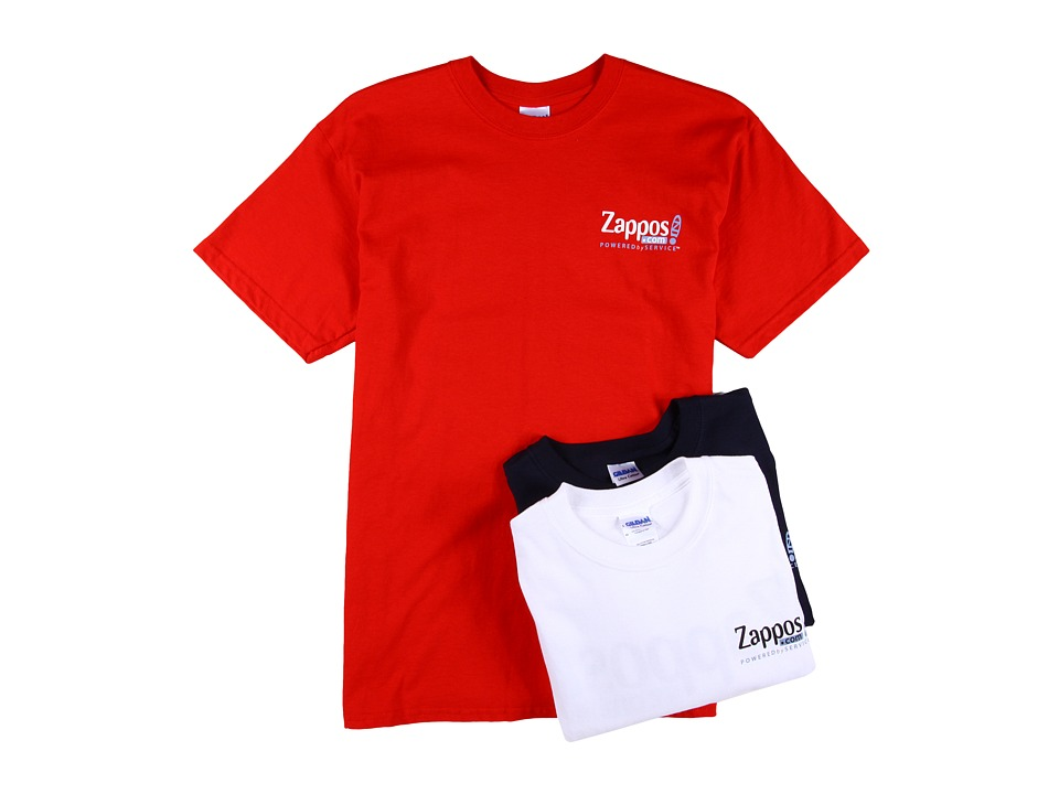 Zappos.com Gear Zappos.com Tee 3 Pack Red/White/Navy T Shirt