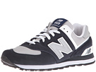 New Balance Classics M574 Navy, Gray, White Shoes