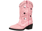 Roper Kids Western Lights Cowboy Boots (Toddler/Little Kid) (Pink/Pink)