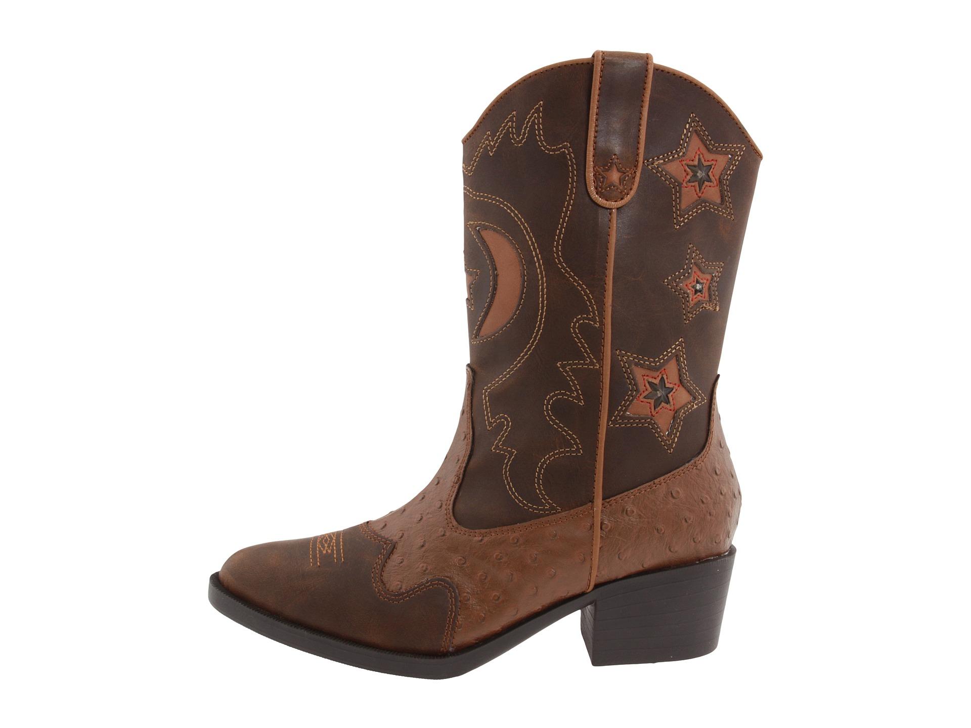 roper western lights cowboy boots toddler kid