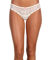 Betsey Johnson - Eyelet Lace Lo-Rise Wide Side Thong