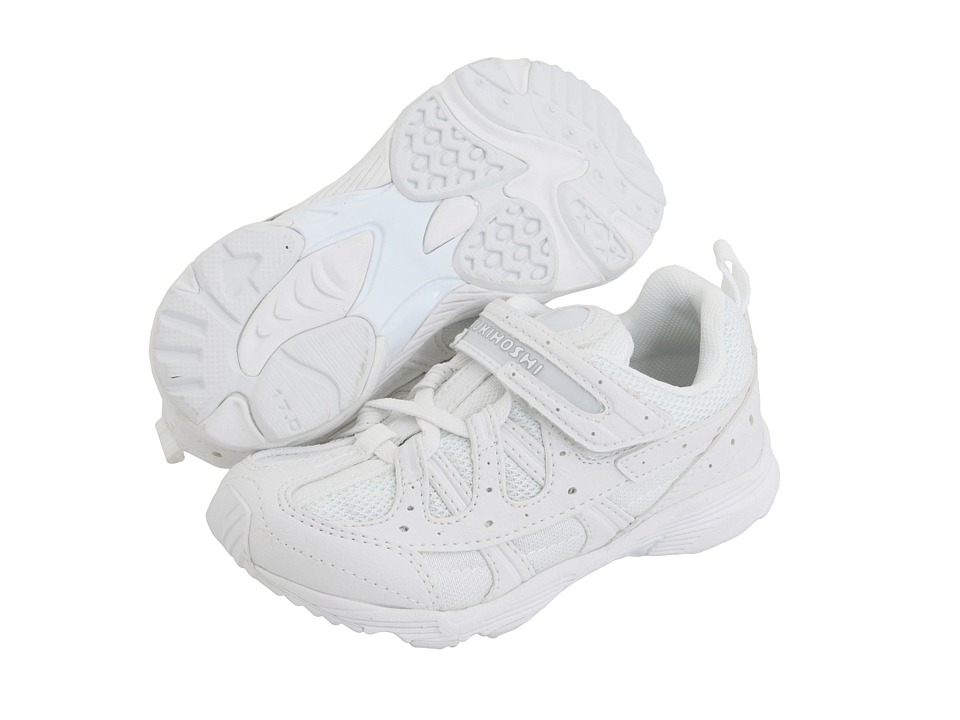 Tsukihoshi Kids - Speed (Toddler/Little Kid) (White/White) Boys Shoes