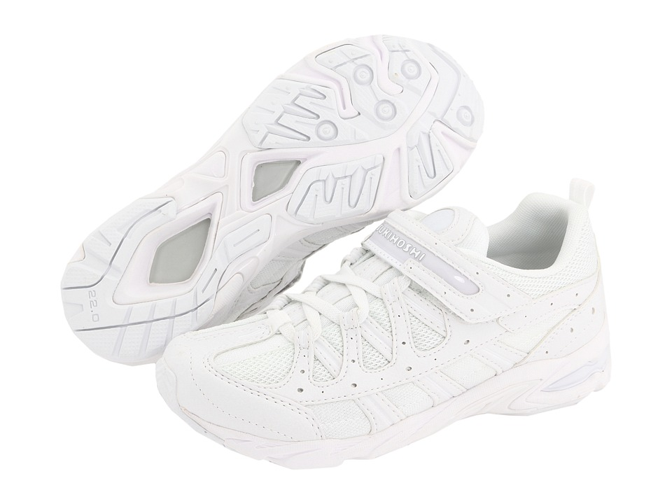Tsukihoshi Kids - Speed (Little Kid/Big Kid) (White/White) Boys Shoes