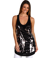 BCBGMAXAZRIA - Animal Sequin Tunic Tank