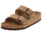 Birkenstock - Arizona Soft Footbed - Suede (Unisex) (Jasper Suede) - Footwear