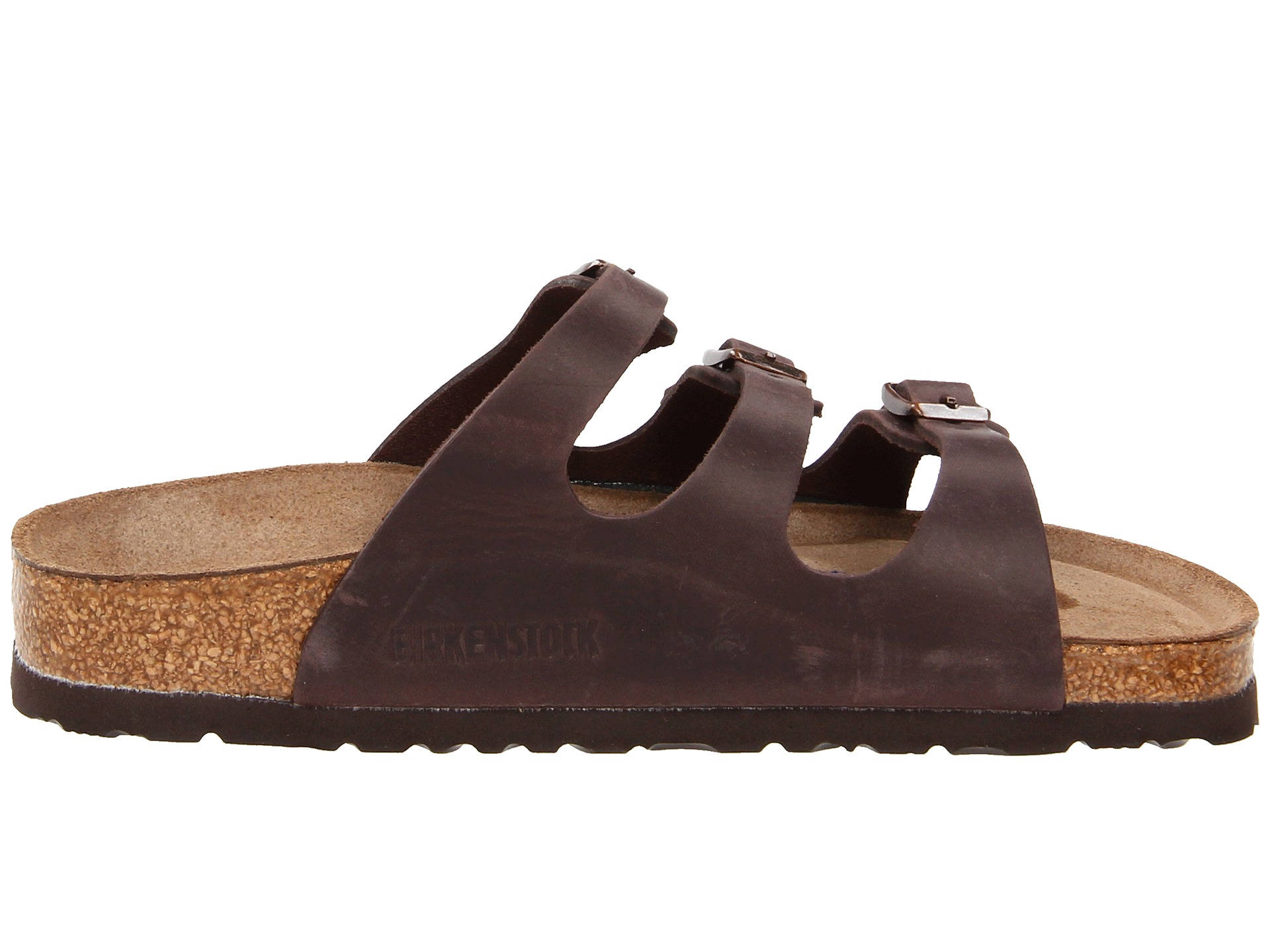 birkenstock florida soft footbed leather