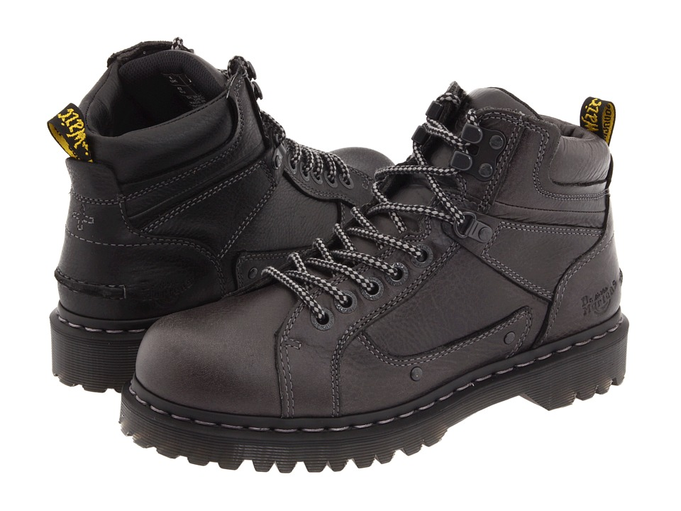 Dr. Martens - Diego 7 Tie Lace To Toe Boot (Black Harvest) Men