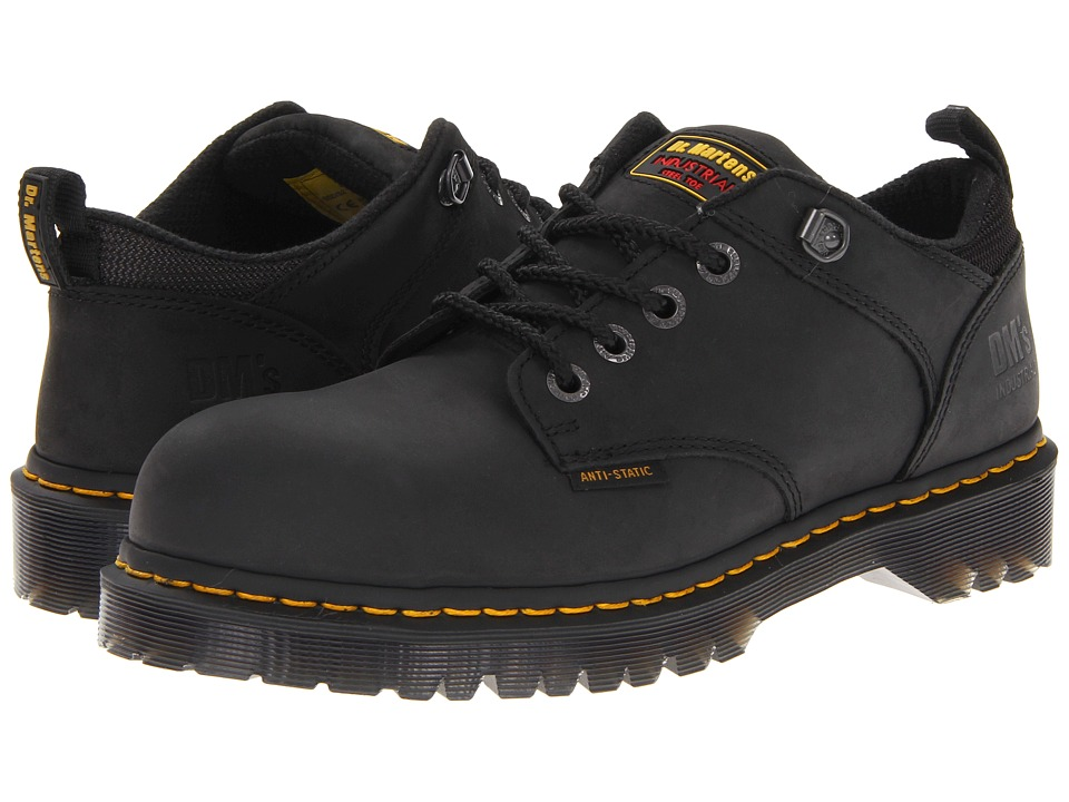 Dr. Martens Work Ashridge SD (Black Industrial Greasy) Men