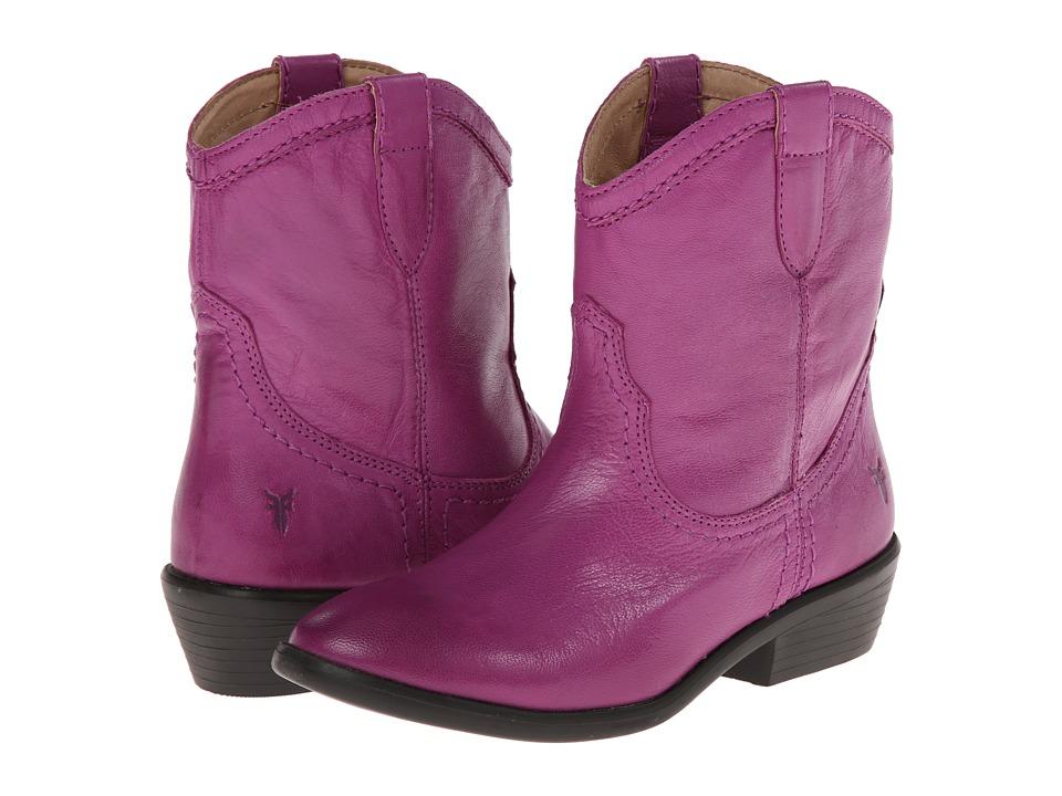 Frye Kids - Carson Shortie (Little Kid/Big Kid) (Berry) Girls Shoes
