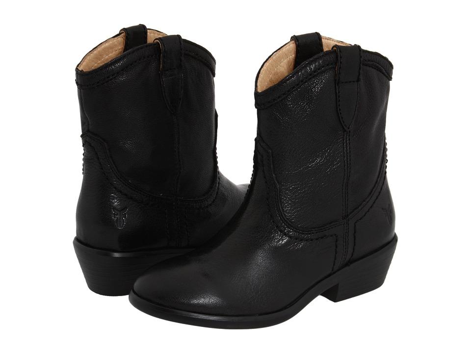 Frye Kids Carson Shortie Little Kid/Big Kid Black Girls Shoes
