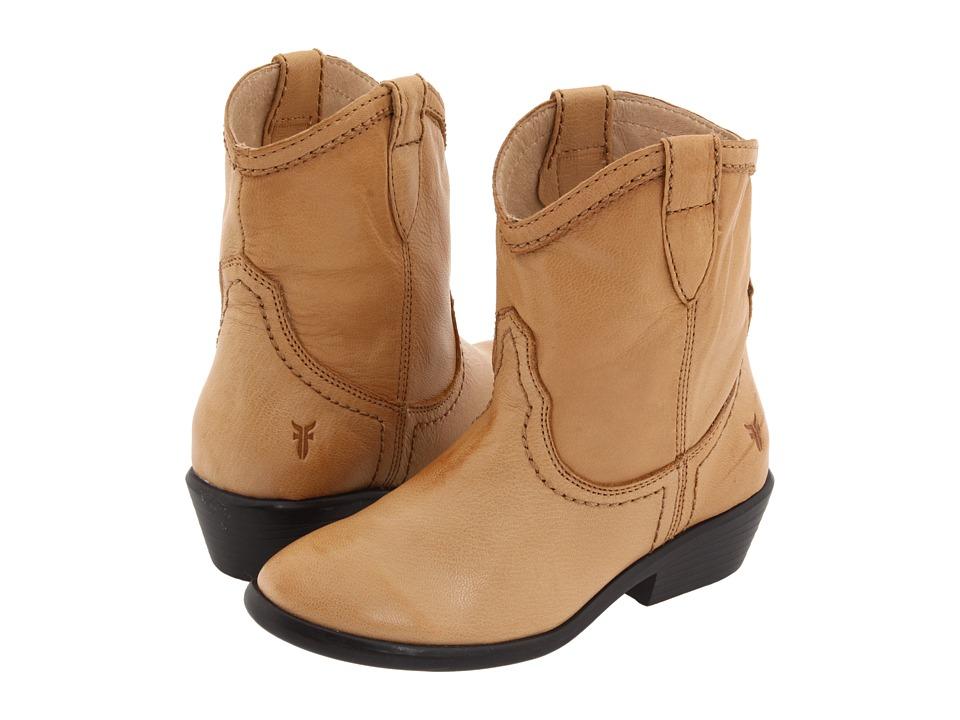 Frye Kids - Carson Shortie (Little Kid/Big Kid) (Tan) Girls Shoes