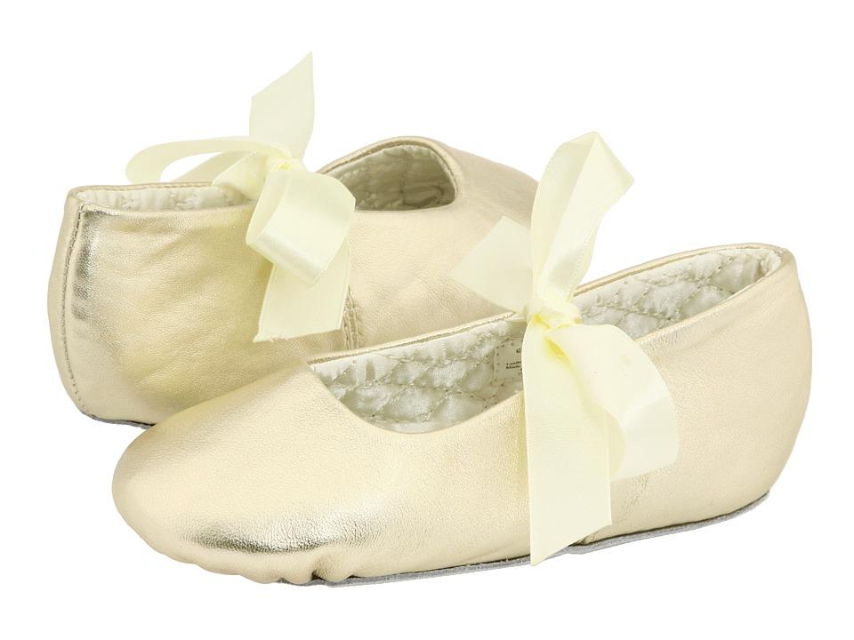 Baby Deer Sabrina Ballet 2 (Toddler/Little Kid) (Gold Leather) Girl's Shoes