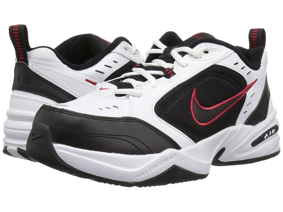 ... Training Shoe (4E) - White UPC 640135284236 product image for Nike - Air  Monarch IV (White/Black-Varsity