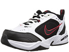 Nike - Air Monarch IV (White/Black-Varsity Red)