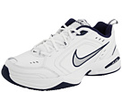 Nike - Air Monarch IV (White/Metallic Silver-Midnight Navy)