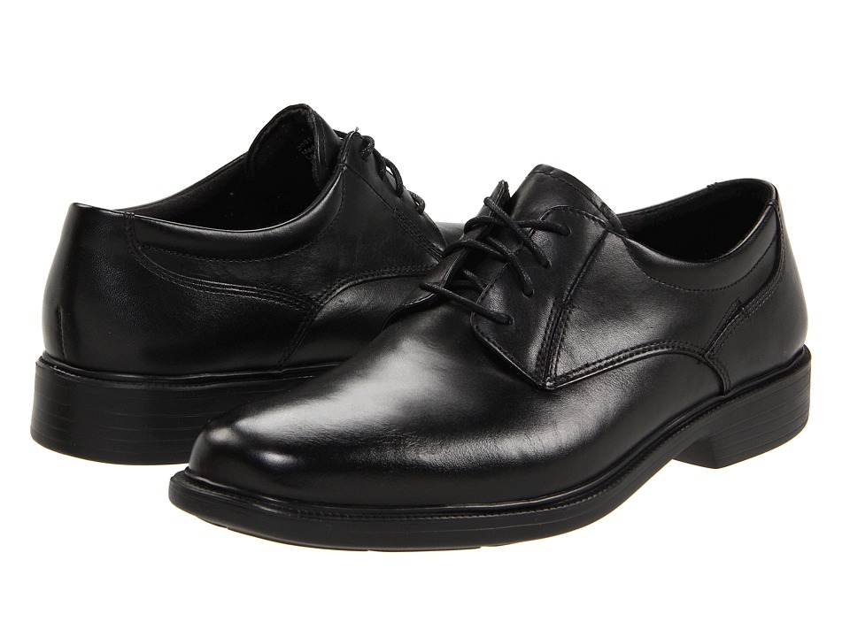 Bostonian - Wendell (Black Smooth Leather) Men