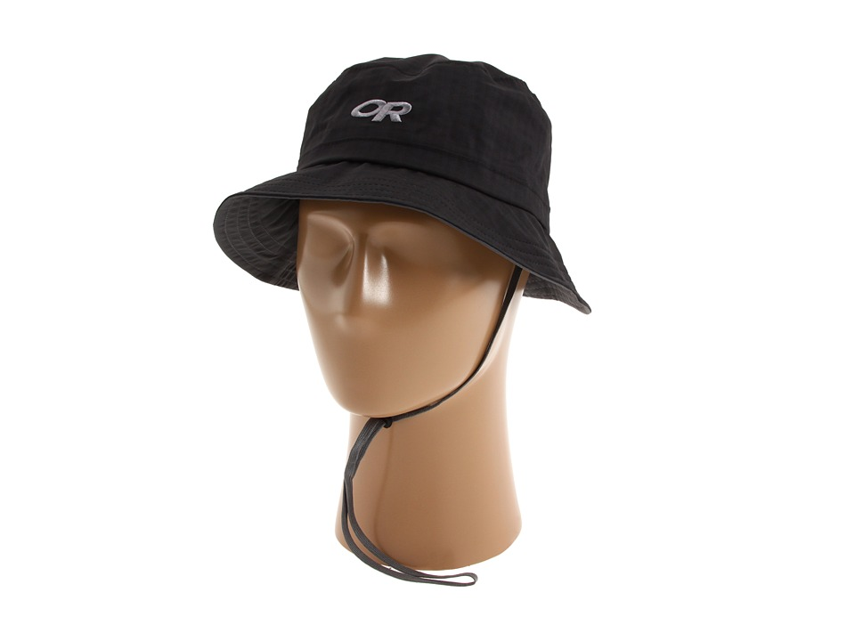 Outdoor Research - Lightstorm Bucket (Black) Safari Hats