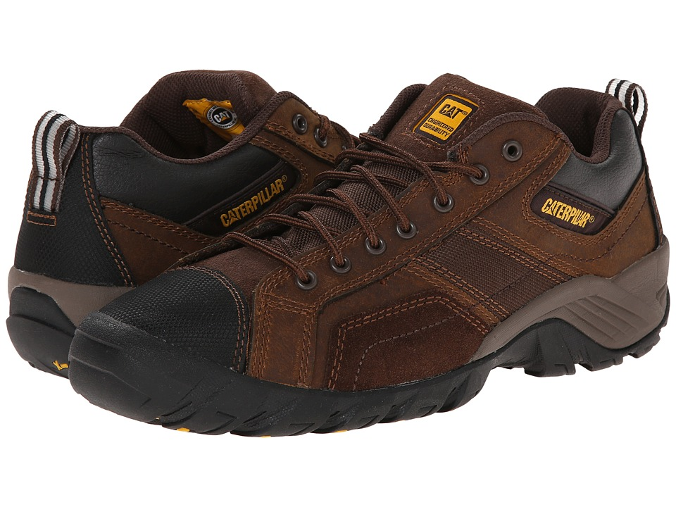 Caterpillar Argon Dark Brown Mens Industrial Shoes