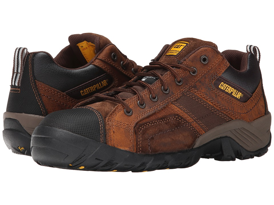 Caterpillar Argon Composite Toe Dark Brown Mens Industrial Shoes