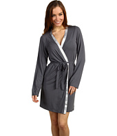 Calvin Klein Underwear - Essentials w/ Satin Trim L/S Short Robe