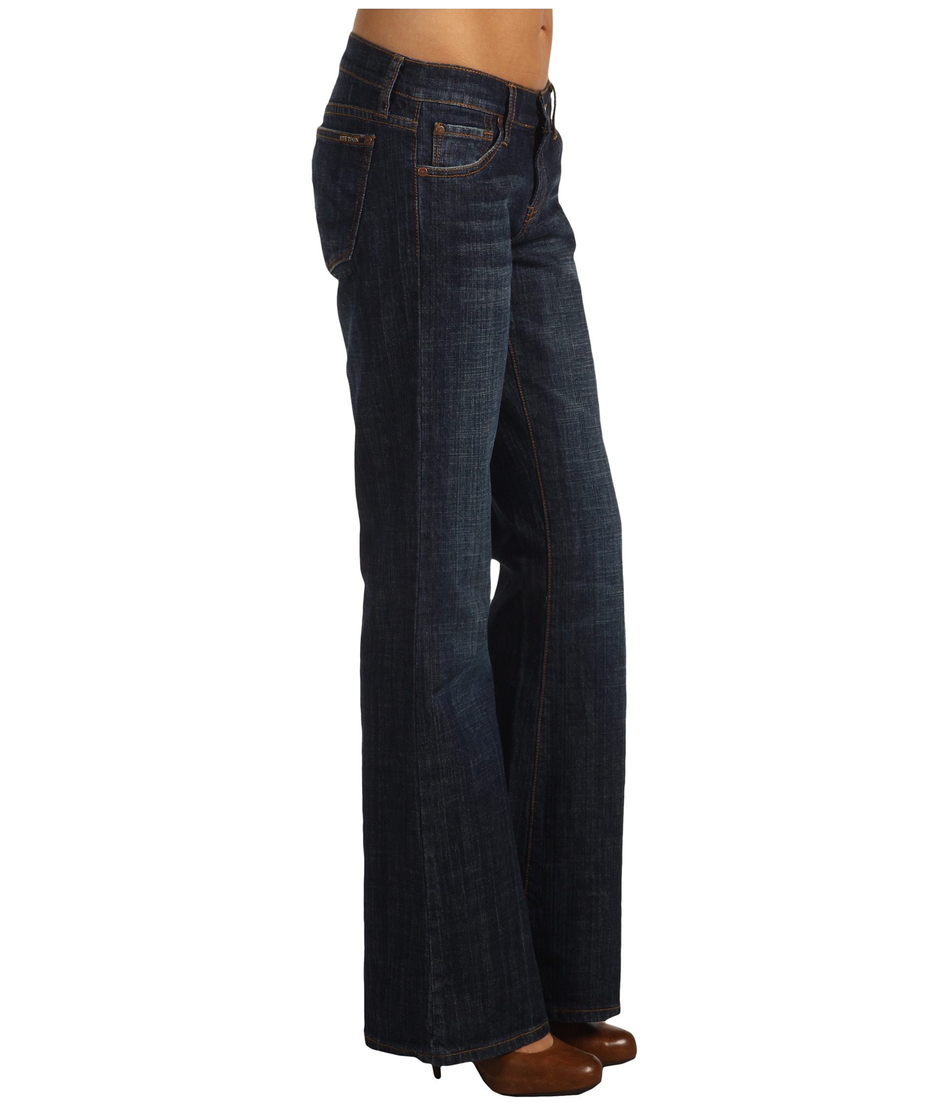 Stetson 816 Classic Boot Cut Jean at Zappos.com