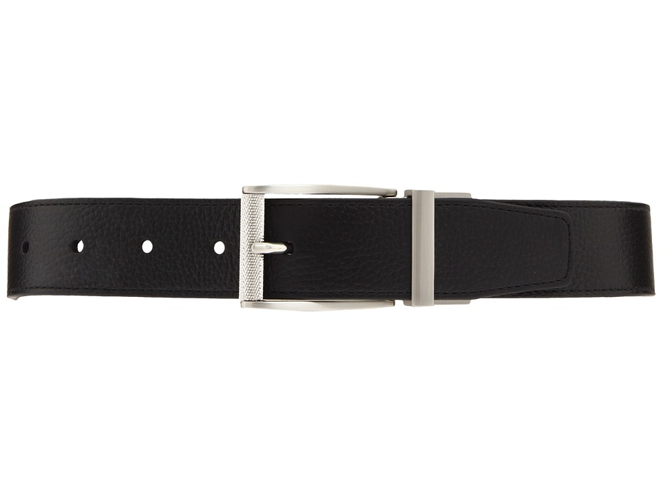 Nike - Classic Reversible Belt (Black/White) Mens Belts