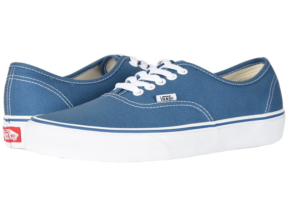 Vans Authentic Core Classics (Navy) Skate Shoes