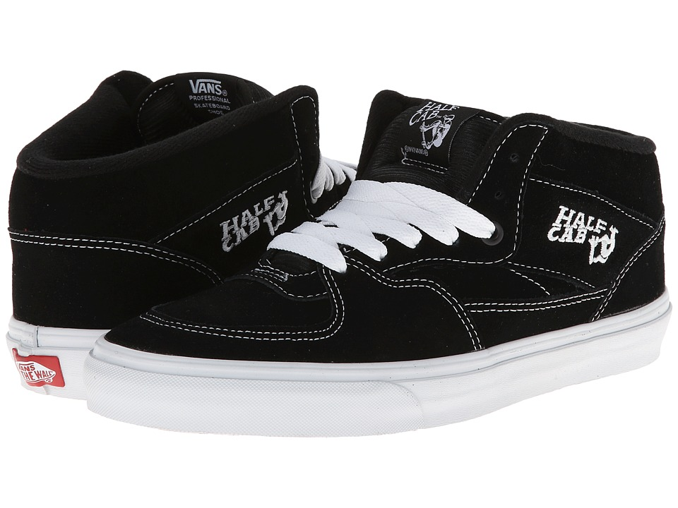 Vans Half Cab Core Classics (Black) Shoes