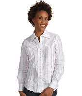 Scully - Lace Stripe Shirt