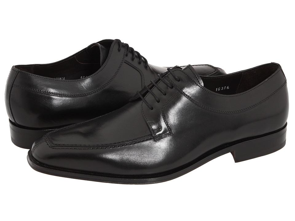 Mezlan - Hundley II (Black) Mens Dress Flat Shoes