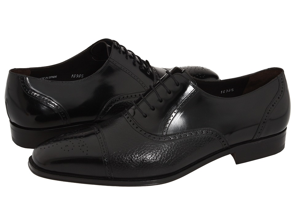 Mezlan - Tyson II (Black) Mens Dress Lace-up Boots