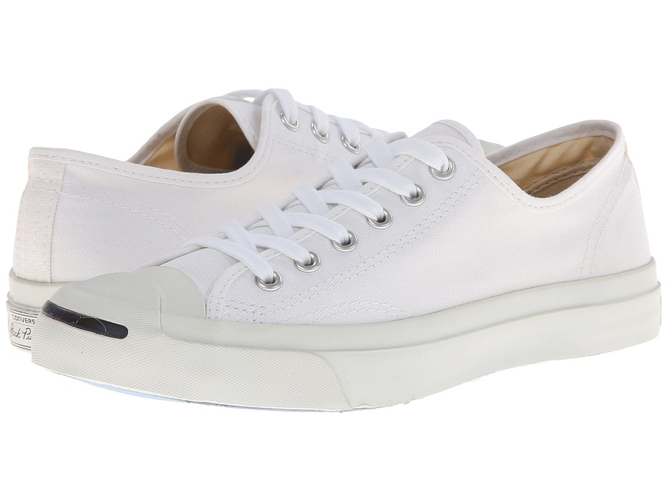 Converse Jack Purcell CP Canvas Low Top (White/White)