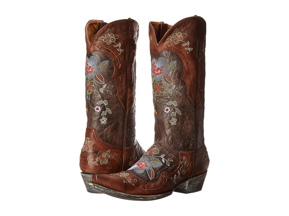Old Gringo Bonnie 13 Chocolate/Brass Cowboy Boots