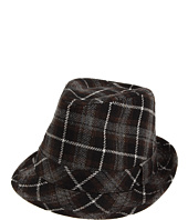 San Diego Hat Company Kids - Plaid Fedora