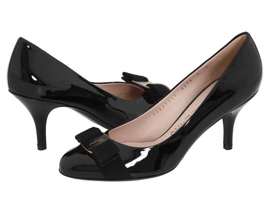 Salvatore Ferragamo Carla (Nero) High Heels