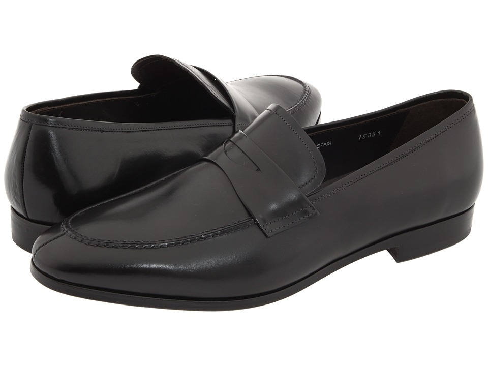 Mezlan Bradley II (Black) Men's Slip-on Dress Shoes