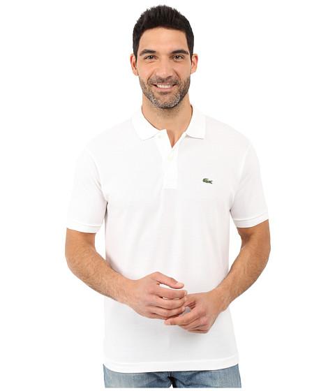 Lacoste L1212 Classic Pique Polo Shirt - White