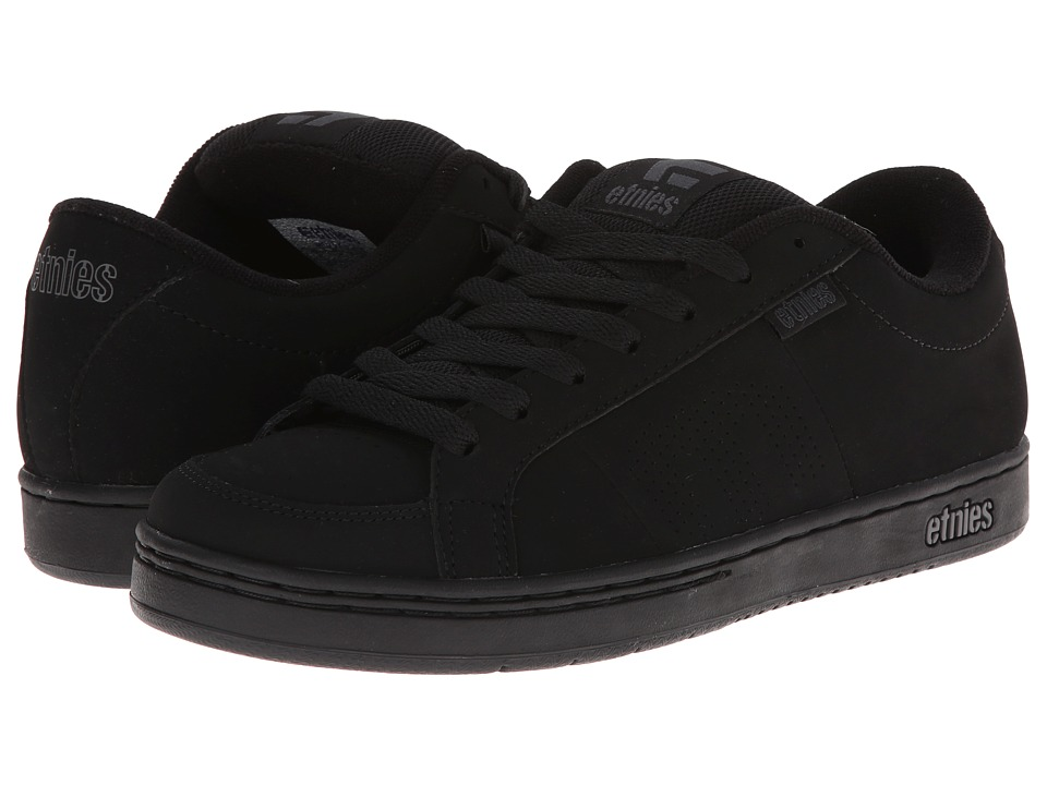 etnies - Kingpin (Black/Black) Mens Skate Shoes